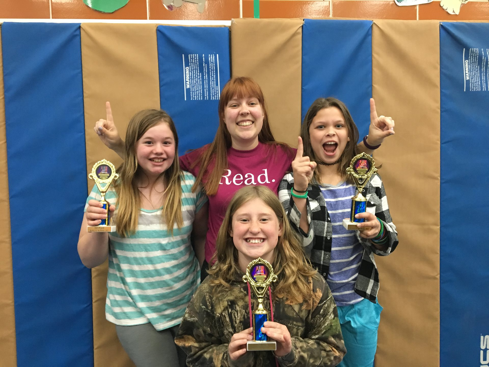 Battle of the Books First Place